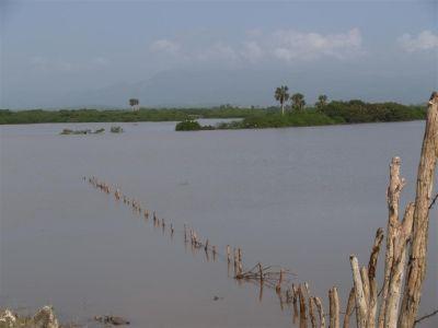 Imagen del río Cayajaná en las cercanías de la presa Zaza. (Foto: GARAL)