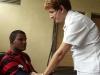 La atención médica de los evacuados ha sido una prioridad en la provincia (Foto Juan Antonio Borrego).