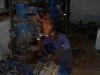 La protección oportuna de los motores eléctricos para el bombeo de agua permitió el rápido restablecimiento de este servicio en la capital provincial. (Foto: GARAL)