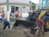 Tras las lluvias, en Trinidad se trabaja en la recuperación. (Foto: Radio Trinidad).