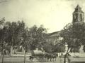 Iglesia de la Caridad a principios del siglo XX.