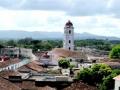 En la parte más antigua de la ciudad predominan las cubiertas de tejas.