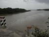 La crecida del río Zaza ha contribuido significativamente a que la presa del mismo nombre se encuentre a la mitad de su capacidad de llenado. (foto: Vicente Brito)