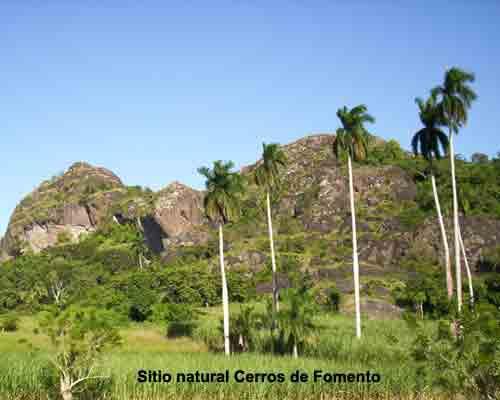 Los Cerro de Fomentoes un sitio natural de gran valor científico, arqueológico e histórico.