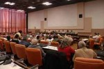 Sesionan comisiones del Parlamento cubano.