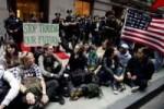 Indignados de Estados Unidos.