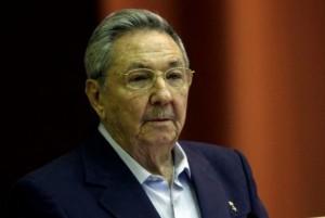 Raúl en el Parlamento cubano.