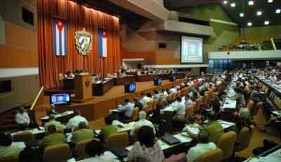 Clausura Raúl Castro la Asamblea Nacional. Cuba
