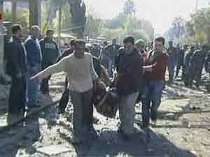Confirman 44 muertos y 166 heridos por atentados en Damasco.