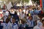 Pioneros espirituanos rindieron homenaje a José Martí
