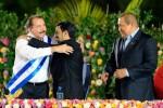 Entre otros, Ortega recibió la felicitación de los presidentes de Irán y Venezuela.