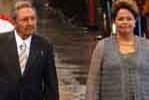 Raúl Castro y Dilma Rousseff en La Habana.