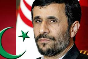 Presidente iraní, Mahmud Ahmadinejad.