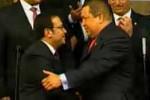 Chávez recibió al ministro de Defensa peruano, Luis Alberto Otárola.