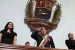 Chávez citó entre los éxitos de su mandato el desarrollo educacional.