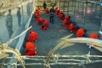 Cárcel de Estados Unidos en su ilegal base naval en Guantánamo.