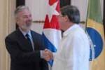Patriota confirmó que la presidenta Dilma Rousseff viajará próximamente a Cuba.
