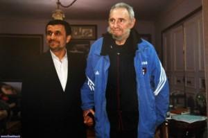 Fidel y Ahmadineyad.