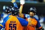 Por los Gallos Bello resultó el mejor bateador al compilar de 4-3