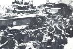 Las hordas motorizadas de la Wehrmacht avanzan hacia Stalingrado.