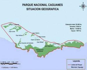 En su conjunto, los cayos están rodeados por la Bahía de Buenavista, accidente litoral más importante del norte de la provincia Sancti Spiritus.