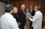 Durante el encuentro se abordaron temas de interés para Cuba y los Estados Unidos.