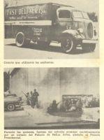 El camión rojiblanco acribillado a balazos se inscribió en nuestra historia con visos de epopeya.