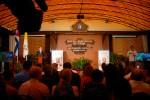 Momento de la inauguración de la Sala de Prensa.