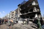 Al menos 27 muertos y 97 heridos en un doble atentado en Damasco.