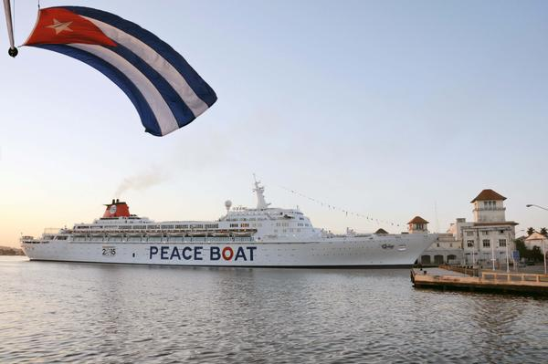 Ship of the Peace will realize stay in Cuba