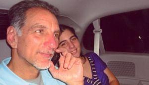 René e Ivette poco después de salir de la cárcel de Marianna. (Foto: Cortesía de la familia)