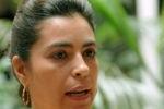 Alta Comisionada recibe a esposa de antiterrorista cubano.