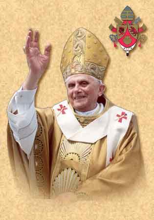 El cardenal Joseph Ratzinger, Papa Benedicto XVI, nació en Marktl am Inn, diócesis de Passau (Alemania), el 16 de abril de 1927 (Sábado Santo)