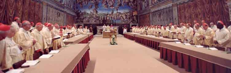 El cardenal Joseph Ratzinger, Papa Benedicto XVI, fue electo el 19 de abril de 2005.