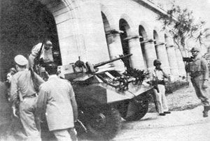 Batista llegó al Palacio y al poder por la vía del putsch militar.
