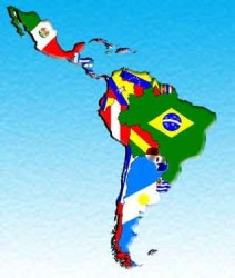 Latinoamerica Mapa