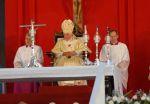 Benedicto XVI oficia la Santa Misa en la Plaza de la Revolución Antonio Maceo, de Santiago de Cuba.
