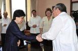 Raúl y Margaret Chan abordaron diversos temas relacionados con los excelentes vínculos de colaboración existentes entre Cuba y esa organización mundial.