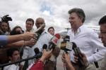 Santos confirmó que se reunirá con Raúl Castro y Hugo Chávez.