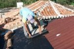 Se trabaja en la restauración de los techos en algunos inmuebles.
