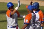 Yulieski resultó el mejor bateador del partido.