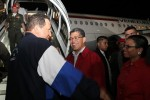 Chavez fue recibido por el vicepresidente Elías Jaua.