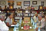 Recibe Esteban Lazo al Presidente de la Cámara de Etiopía, Abadula Gemeda Dago.
