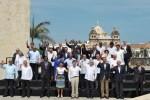 Los presidentes de Venezuela, Ecuador, Nicaragua, Haití y Perú no asistieron a la Cumbre.