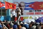 Phu Trong reafirmó el total respaldo hacia Cuba y condenó el bloqueo.