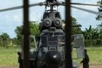 Brasil ha aportado helicópteros de rescate.