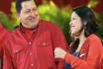 Chávez y su hija Maria Gabriela en foto de archivo.