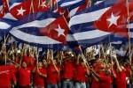 Más de 1000 representantes de 162 organizaciones sindicales del mundo participarán en el desfile por el 1 de mayo en Cuba. (foto: AIN)