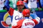 Yulieski y Cepeda en el Clásico Mundial de Béisbol (Foto Archivo).