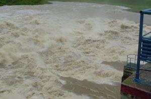 Con los escurrimientos de la Zaza, ya suman seis los embalses de la provincia que vierten sus excedentes de agua.